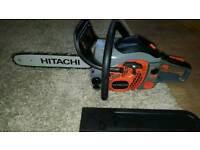 Hitachi petrol chainsaw