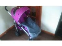 Excellent condition chicco multiway pushchair