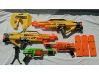 4 Nerf Guns with accessories. 2 Nerf Stampede ECS and 2 Nerf Dart Tag. £35 for the lot ono.
