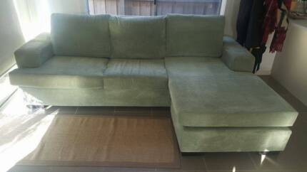 Boston Green Chaise Lounge - Harvey norman Deer Park Brimbank Area Preview