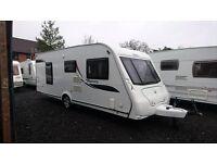 Elddis Odyssey 540 4 berth caravan 2010, Fixed Bed, MOTOR MOVER, VGC, BARGAIN !