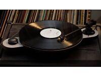 Pro-Ject Elemental turntable - Grey with Ortofon OM Cartridge
