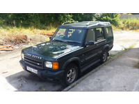 2001 LANDROVER DISCOVERY TD5 7 SEATER £1150 no offers