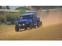 Landrover tomcat 300 tdi comp safari offroader