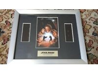 Star Wars - Revenge Of The Sith Framed Original Filmcells Limited Edition