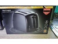 Russell Hobbs 21641 Textures Black 2 Slice Toaster