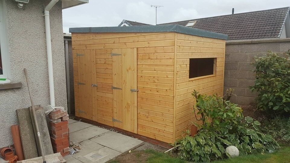 January Offer Only 10ft X 8ft Wooden Garden Shed In Forfar Angus Gumtree