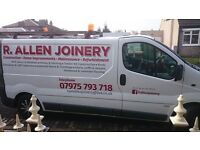 Time served Joiner 10 years experience. VERY COMPETITIVE PRICES