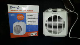 2 kW Fan Heater With Thermostat Control x 2 Available - £6 Each, 2 For £10