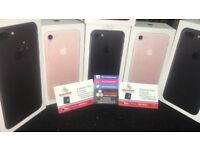 Unlocked iphone 7 128GB brand new Condition come with warranty