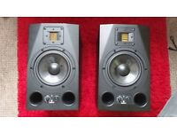 Adam A7x (Pair) includes ( XLR to 1/4 jack x2) Perfect condition.