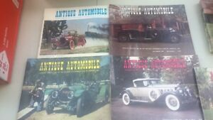 5 Antique Automobile publications from 1978