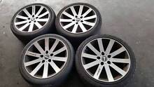18 Inch Bboss Holden Commodore Alloy Wheels And Tyres Bayswater Bayswater Area Preview