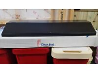 2 x clear-seal crown fish tank hoods ..... brand new
