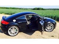 Audi TT Black, 2.0 litre FSI Coupe Manual 2007