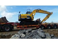 Digger driver and ground worker required