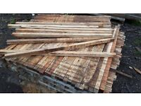 1200 x 35mm x35mm battens sawn timber stakes