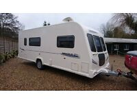 Bailey Pegasus 514 4 berth caravan 2011, MOTOR MOVER FITTED SEPARATE SHOWER, AWNING, VGC,BARGAIN !