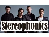Stereophonics tickets 2x Standing! - Tonight at Wembley - Friday 2nd March