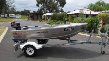 Stacer 3.1m Aluminium boat with Trailer Eaton Dardanup Area Preview