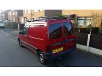 2002 CITREON BERLINGO WITH MOT TILL JAN 2019 AND ONLY 129000 MILES