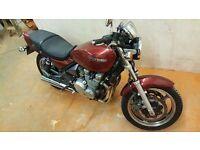kawasaki zephyr zr 550cc 1991 motorbike superbike swap