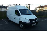 LDV MAXUS 2.5 DIESEL ENGINE GEARBOX GOOD WORKING ORDER MOT AND TAX 29/04/ 2017 READY TO DRIVE