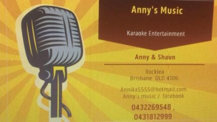 DJ Karaoke Anny's Music  free lighting worth $200
