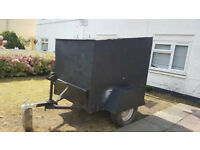 trailer with winch