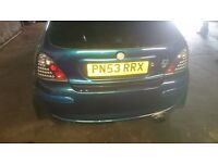 full exhaust system for mg zr