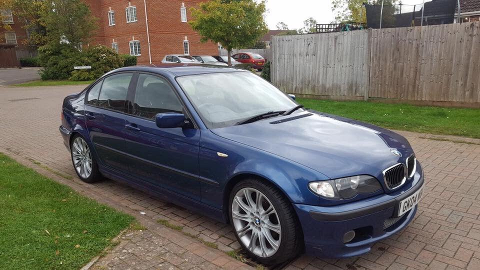 2004 BMW 3 SERIES SALOON E46 2.0 320D SPORT 4DR, 12 MONTHS MOT, FULL SERVICE HISTORY, 109K