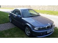 BMW 320ci Convertible only 30k MILES - M3 sports kit - Excellent condition with Hard top included