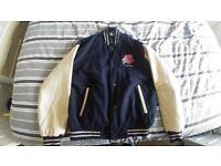 Men's Planet Hollywood Las Vegas leather (part), jacket. Size medium. Bargain!
