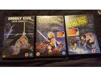 family guy dvds starwars for sale