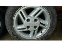 Ford ESCORT MK4 Alloys & Tyres