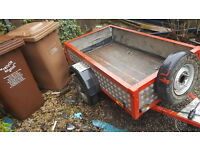 5x3 trailer good work ready use any thing £175 ono all light build in to body all work good