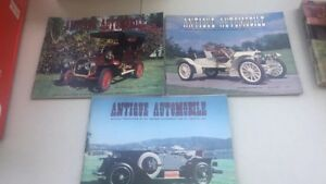 3 Antique Automobile publications from 1979