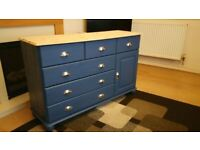 Lovely Solid Pine Sideboard / Chest of drawers