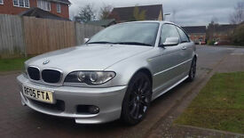 2005 BMW E46 2.0 320 CD SPORT AUTO, DIESEL 2 DOOR COUPE, 107 k , FULL SERVICE HISTORY,