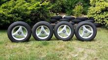 Speedy 3 Spoke Rims - Minimum Ware Tyres w/ Lots of Tread Lenswood Adelaide Hills Preview