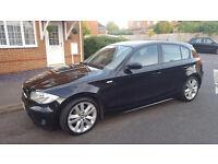 54 PLATE BMW 1 SERIES 118D SPORT 5 DOOR HATCHBACK, LONG MOT, 113K FULL SERVICE HISTORY