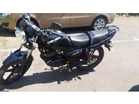 SINNIS MAX II 125cc Black