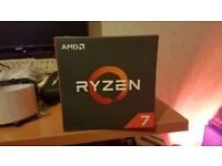 AMD ryzen 1700x processor CPU brand new sealed computer