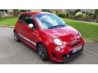 Abarth 500. 1.4 T many extras , Bombadier exhaust , 1years MOT Lovely car