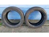 Tyres like new 205 50 R17