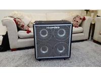 Hartke HyDrive 4x10; Bass Speaker Enclosure, 1000w/8ohm handling
