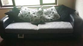 3seater and 2 seater sofa