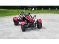 NEW 2016 300CC RED ROAD LEGAL QUAD BIKE ASSEMBLED IN UK FINANCE AVAILABLE, FREE NEXT DAY DELIVERY
