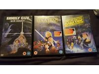 family guy dvds starwars