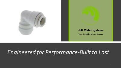John Guest RO Elbow Water Fitting 3/8